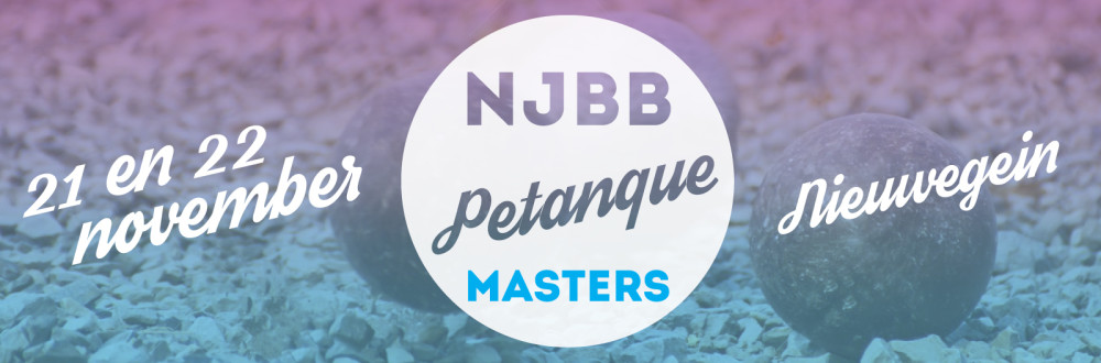 NJBB Masters petanque
