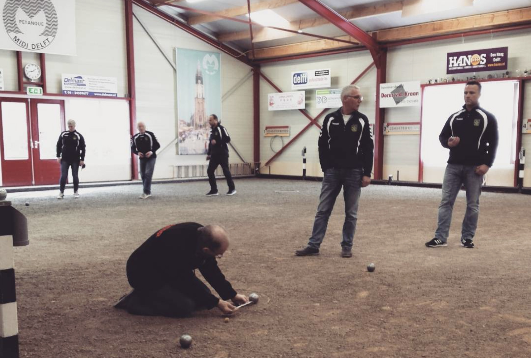 Nationale petanque competitie dag 12