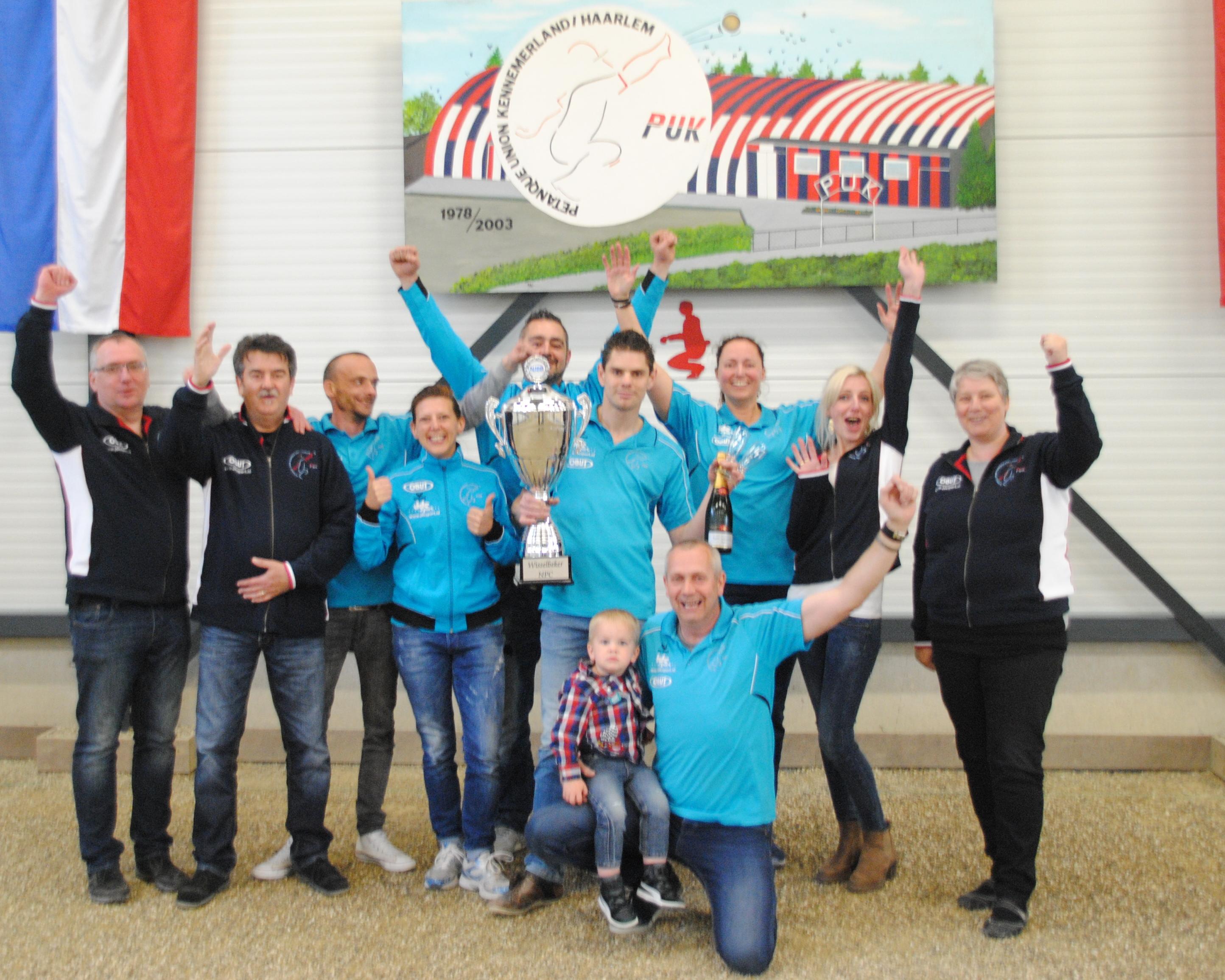 PUK Haarlem kampioen NPC
