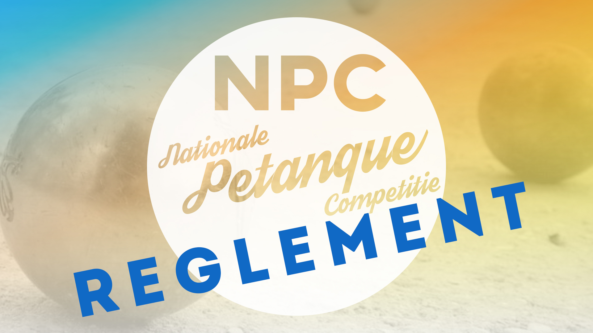 Nationale petanque competitie