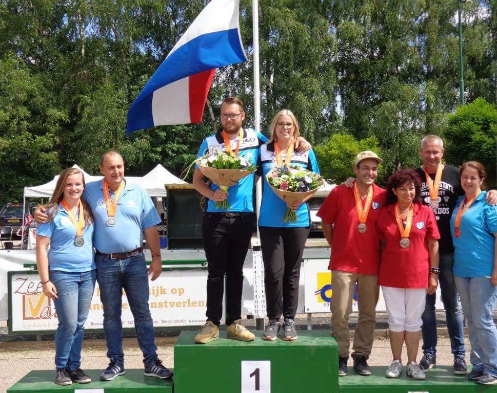 NK Mix petanque kampioenen