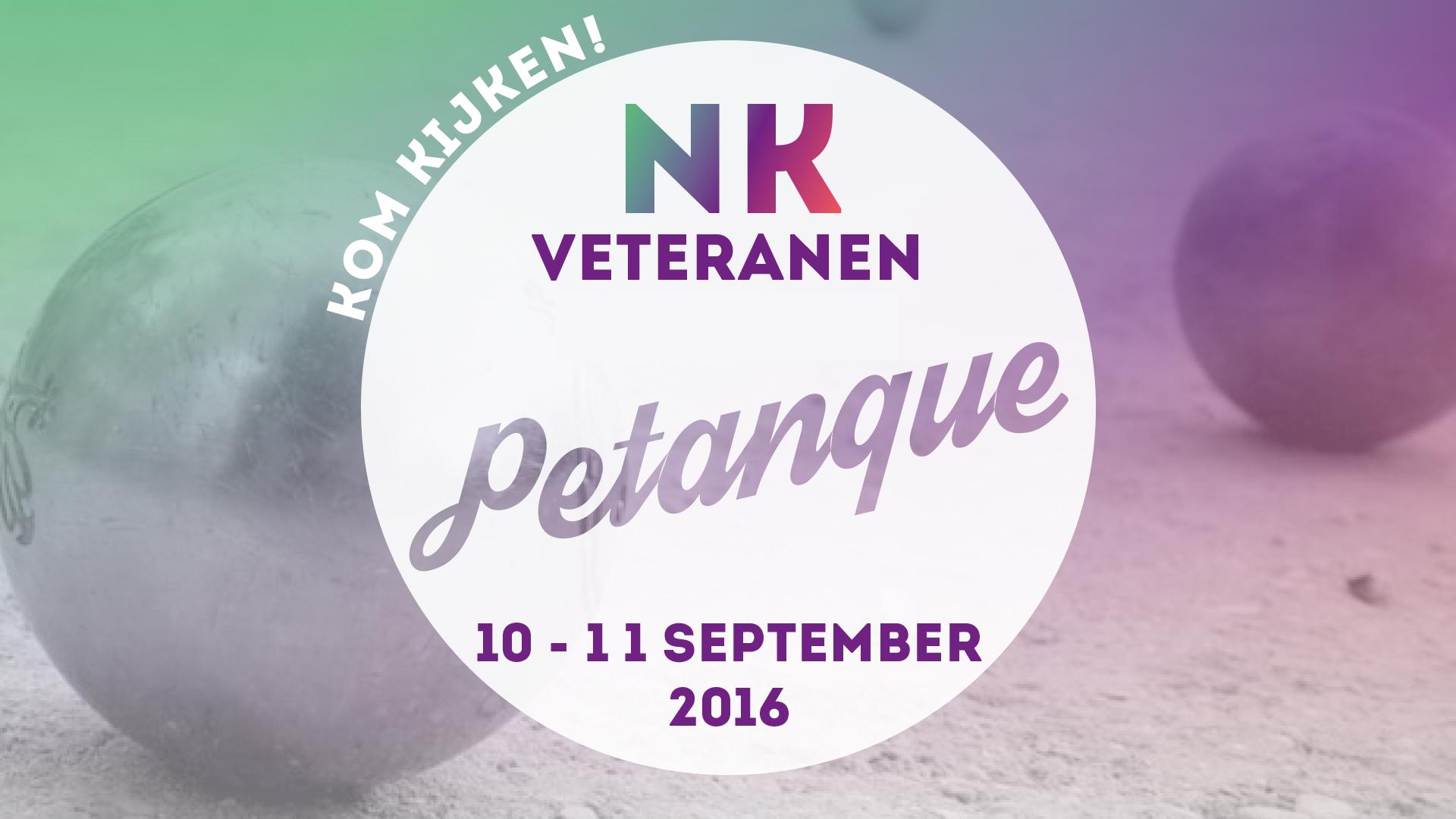 NK veteranen petanque