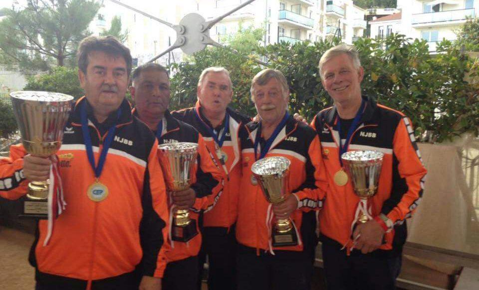 Europees Kampioen petanque veteranen