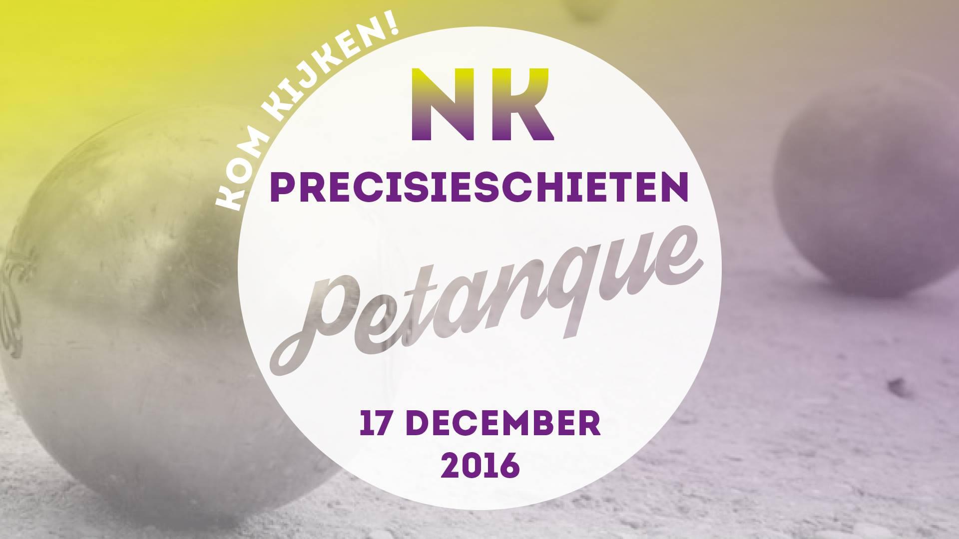 NK Petanque precisieschieten