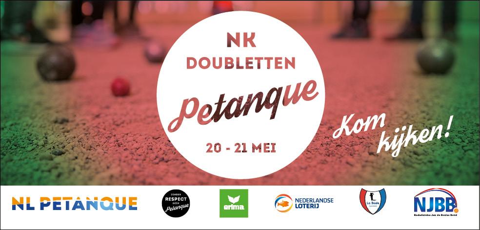 NK petanque Doubletten