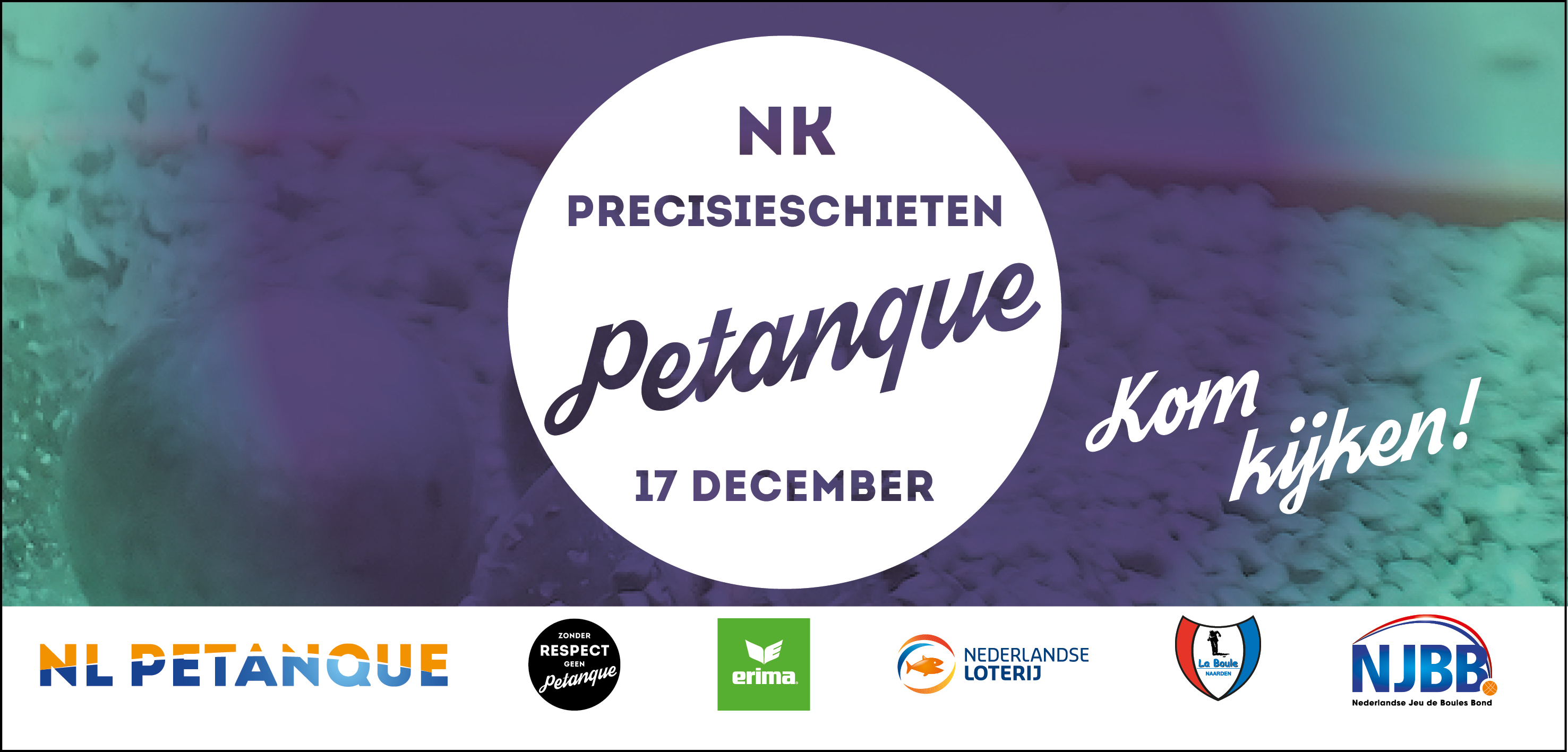 NK precisieschieten 2017 petanque