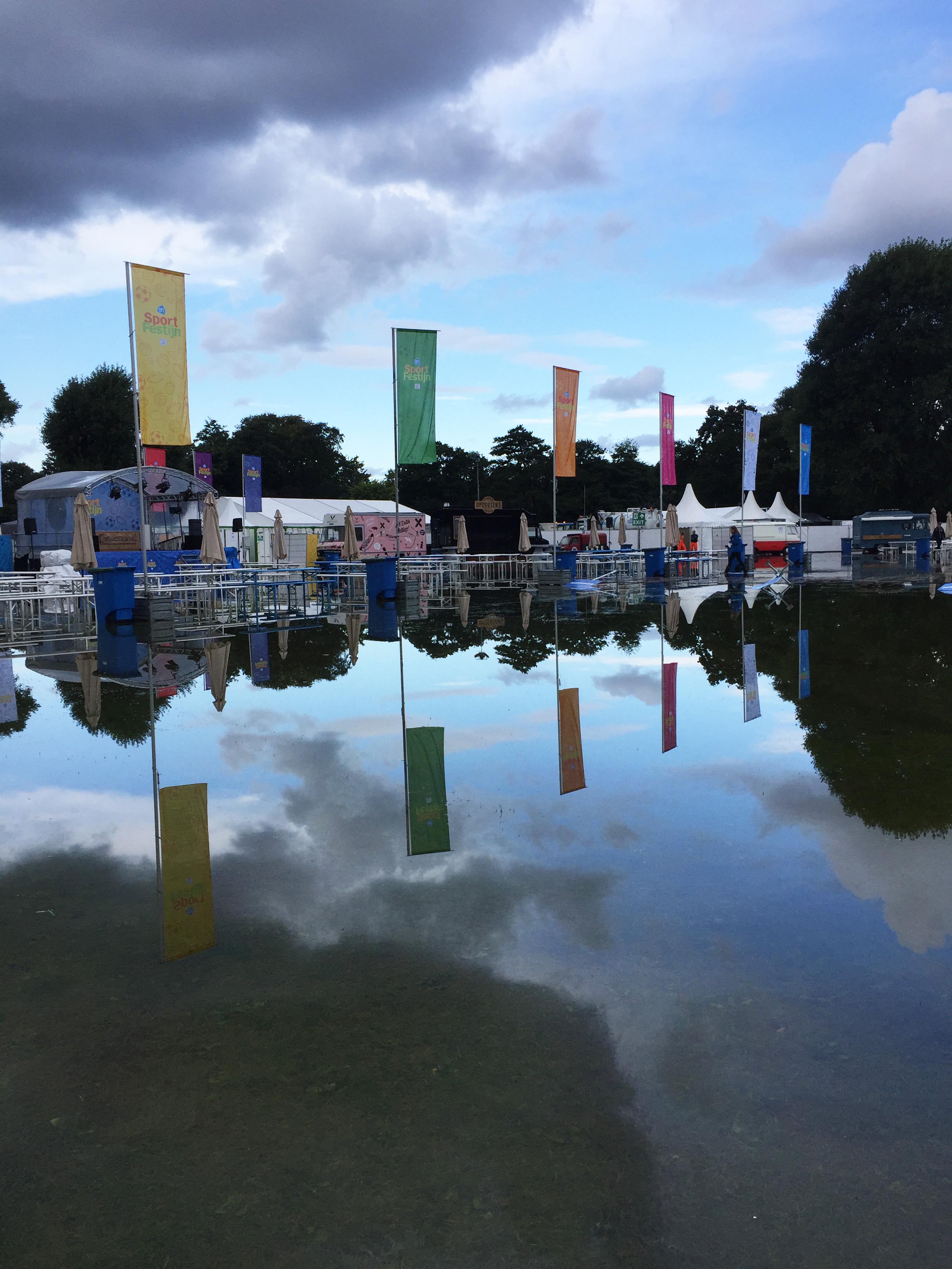 AH Sportfestijn door hevige regenval afgelast