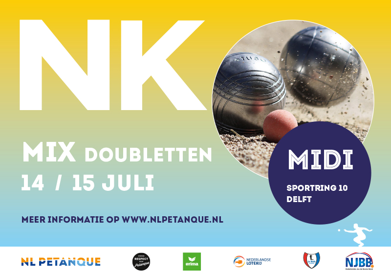 NK Mix 2018 petanque