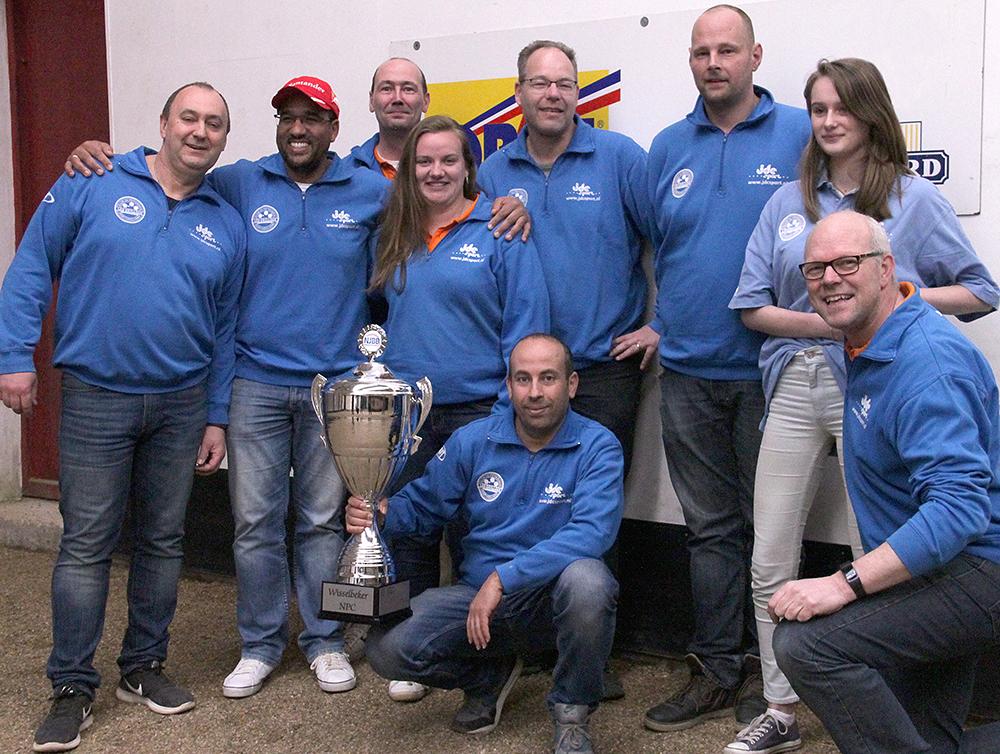 Nationale petanque competitie kampioenen
