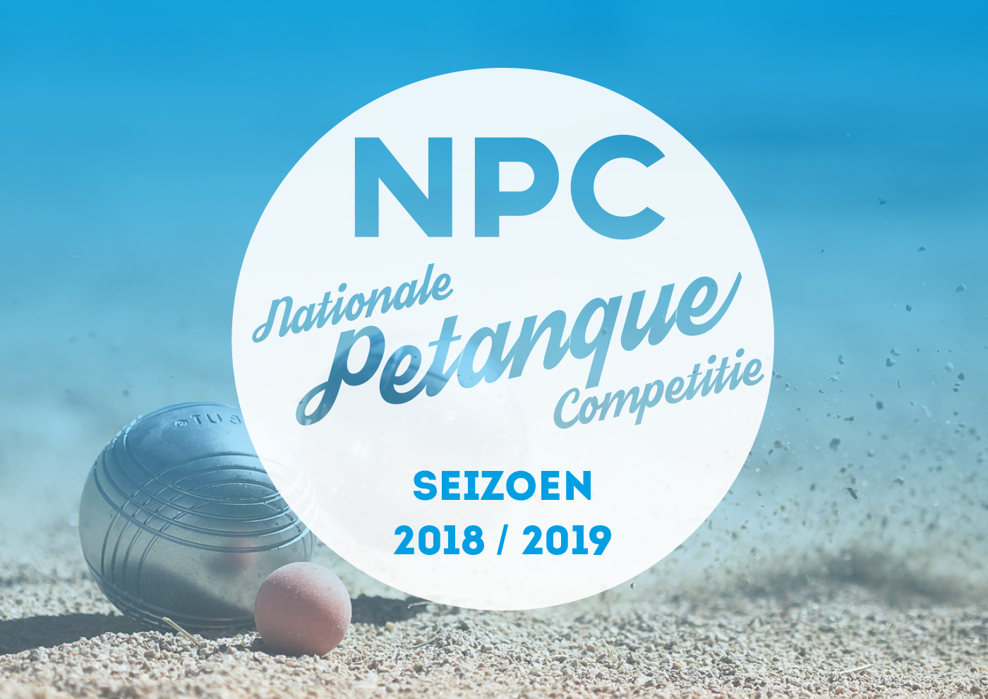 Nationale Petanque Competitie Seizoen 2018-2019