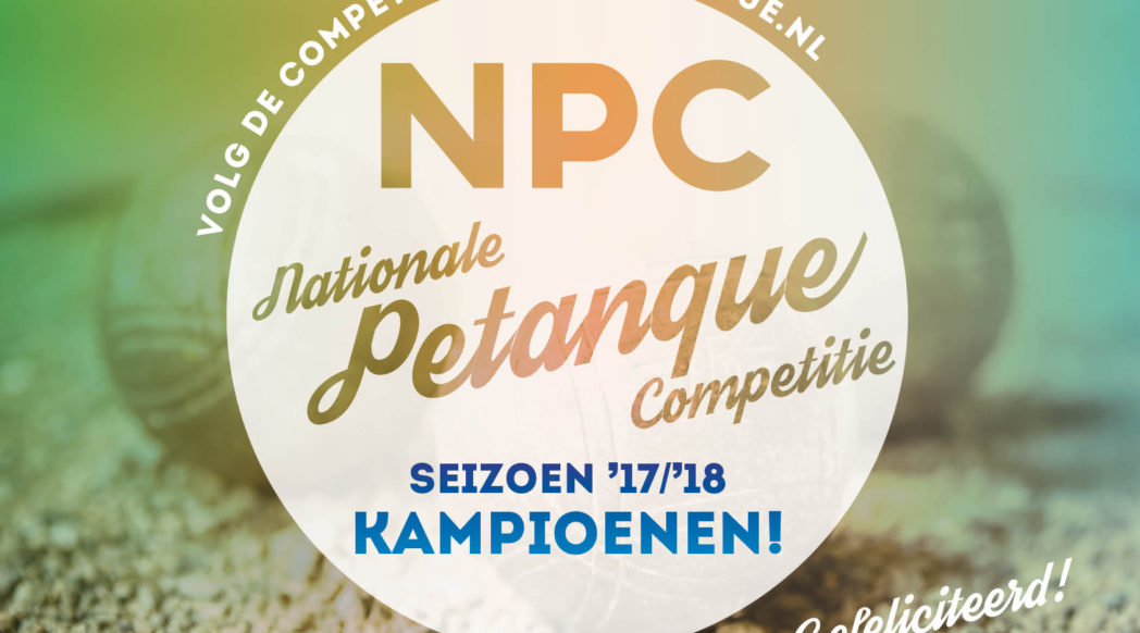 NPC kampioenen 2018