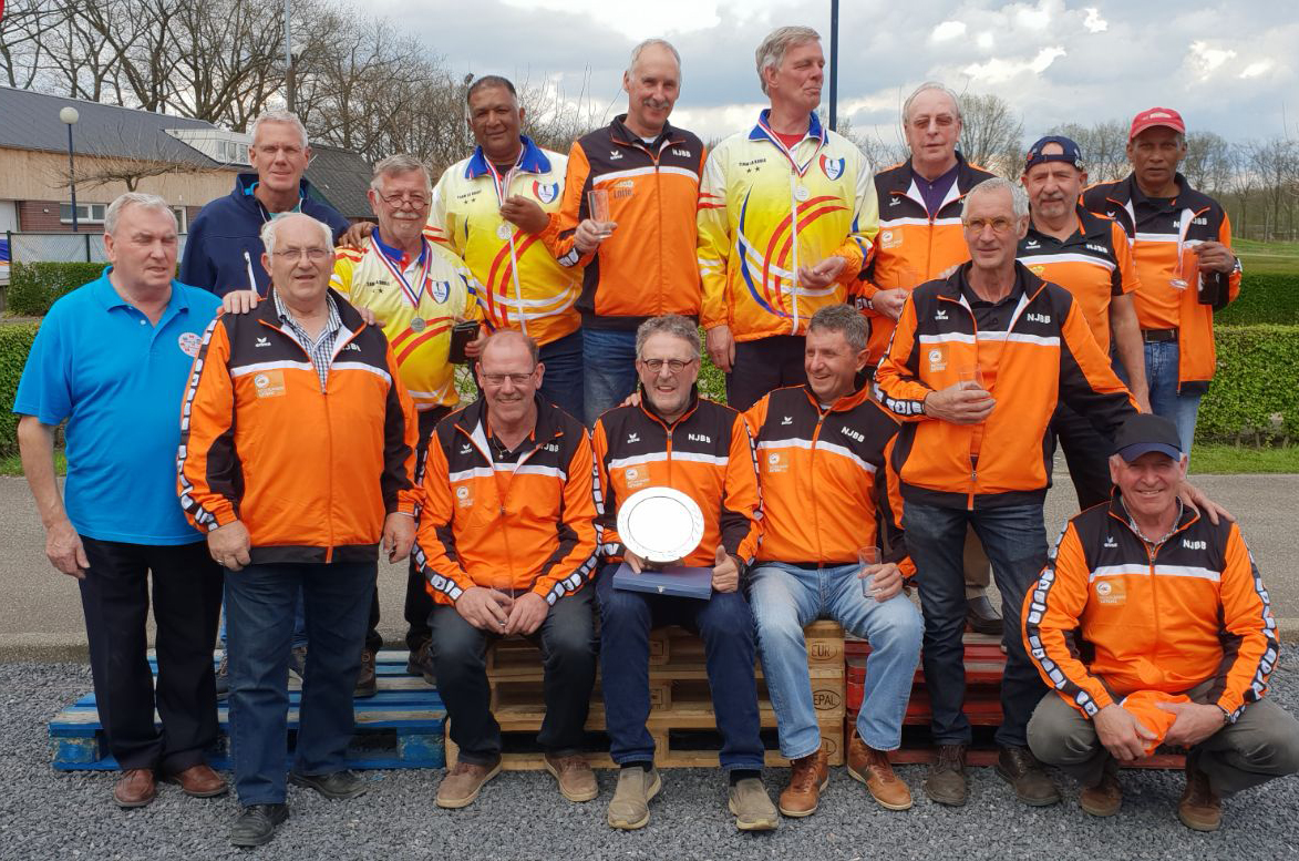 Nations Veteran Cup NederlandseTeams
