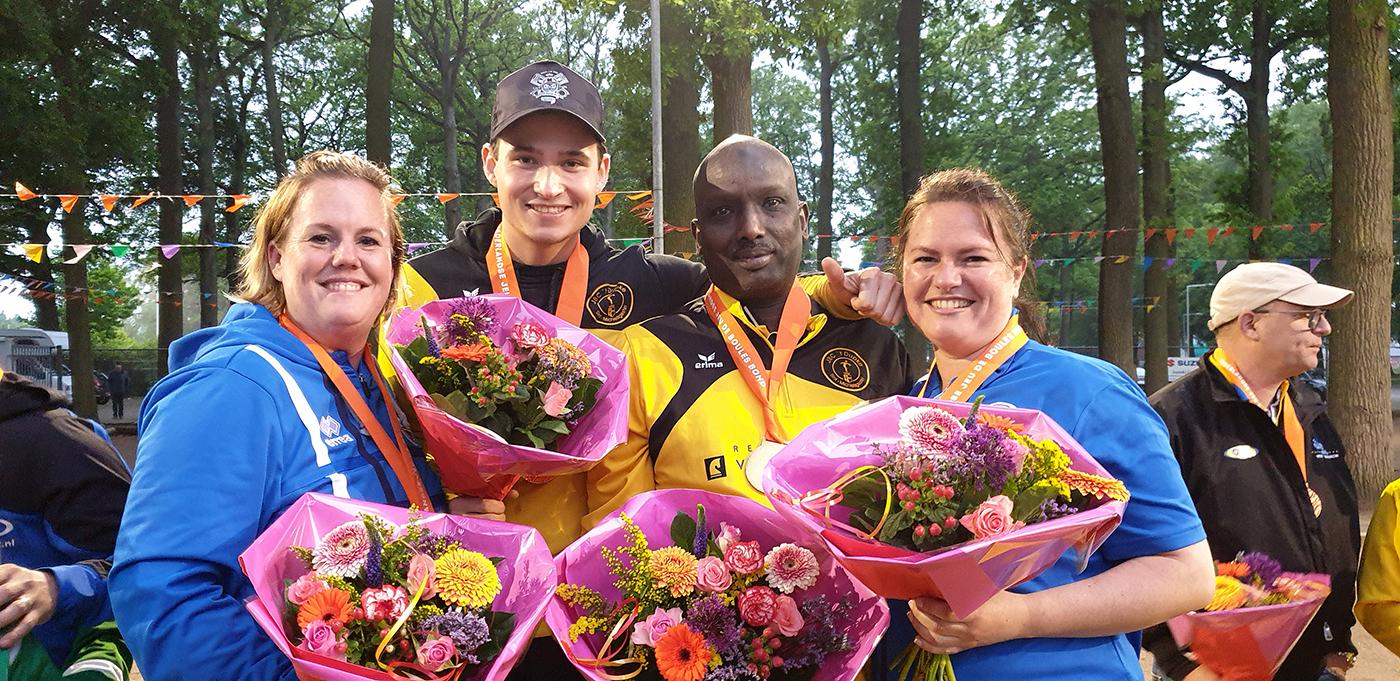 NK Doubletten petanque kampioenen
