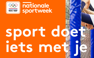Nationale Sportweek van start; 'sport doet iets met je'