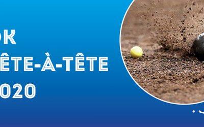 Districtskampioenschappen Tête-à-Tête 2020