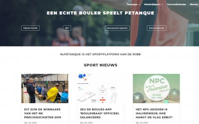 Welkom op de nieuwe website van NLpetanque