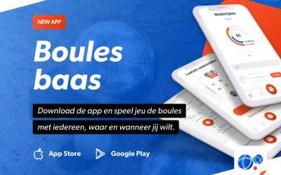 Een buitenbaan in de buurt vind je met de Boulesbaas app