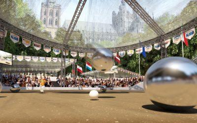 EK Petanque 2022 naar 's-Hertogenbosch