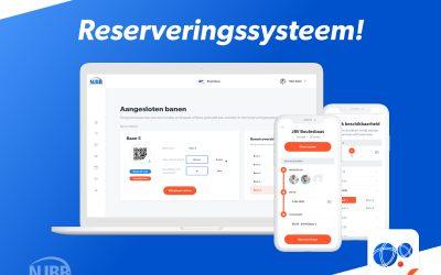 Reserveringssysteem voor verenigingen in de Boulesbaas app
