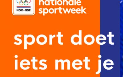 Doe mee aan de NOC*NSF Nationale Sportweek!