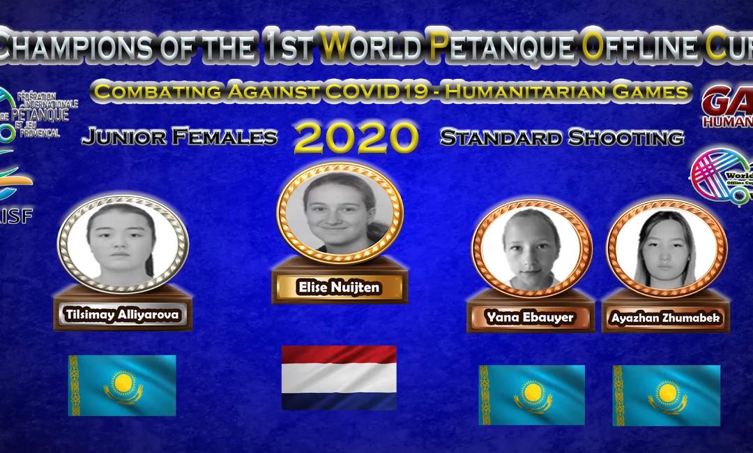 Nederland boekt mooie resultaten op eerste World Petanque Offline Cup 2020